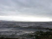 Río Tay, Dundee Escocia Fotografía de archivo