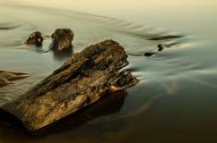 Río tranquilo Foto de archivo