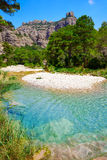 Río Ulldemo de Beceite en Teruel España fotografía de archivo libre de regalías