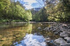Río Ure Foto de archivo libre de regalías