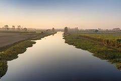 Río Uttar Pradesh la India de Hindon Foto de archivo