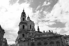 Río vivo Moldava de Europa Kampa del viaje de la República Checa del czechia Fotos de archivo libres de regalías