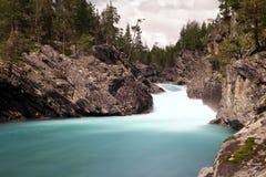 Río y cascada Imágenes de archivo libres de regalías