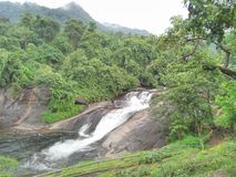 Río y naturaleza Foto de archivo