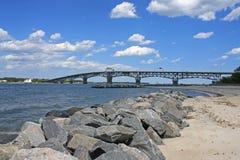 Río York, Yorktown fotografía de archivo libre de regalías