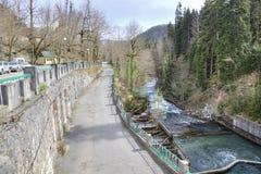 Río Yupshara Fotos de archivo libres de regalías