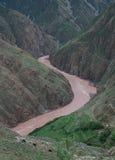 Ríos en Tíbet Fotos de archivo