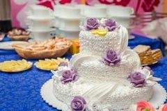 róż ciasta poślubić Zdjęcie Stock