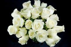Róża biały bukiet Obrazy Stock