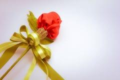Róża w antykach wykłada róża w roczniku Fotografia Stock