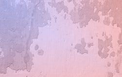 Różana kwarc i spokój barwimy starego ściennego tekstury grunge backgroun Fotografia Stock