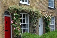 Różane chałupy Zdjęcia Stock