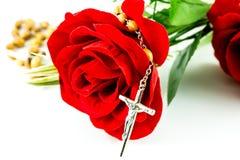 Różaniec i wzrastał Obrazy Royalty Free