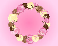 Różany abstrakt Fotografia Stock