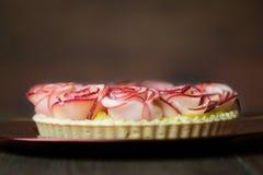 Różany Jabłczany tarta Zdjęcie Royalty Free