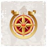 różany kompasu rocznik Zdjęcia Royalty Free