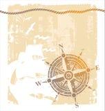 różany kompasu rocznik Obrazy Stock