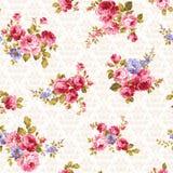 Różany kwiatu wzór, Zdjęcia Stock