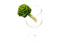 Różany rękodzieło od cytryny trawy liścia Obrazy Stock