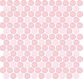 Różany tło ilustracja wektor