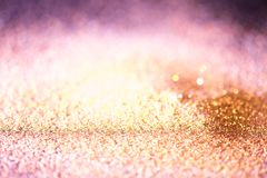 Różany złoto menchii pyłu tekstury abstrakta tło fotografia royalty free