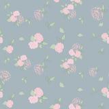 Róże blednąć bezszwowego wzór Zdjęcia Stock