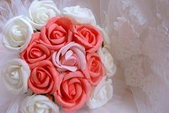 Róże dla panny młodej Obraz Royalty Free