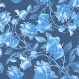 Róże malować w akwareli fotografia royalty free