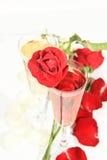 Róże romans Zdjęcia Stock