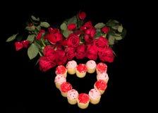 Róże są sposobem mój serce Fotografia Royalty Free