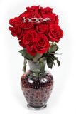 róże wazowe obrazy royalty free
