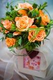 róże wiązek Obrazy Royalty Free