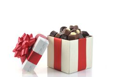 różna pudełkowata czekolada zdjęcie royalty free