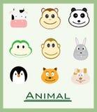 różna zwierzęca kolekcja each ablegruje oddzielonego Zdjęcia Royalty Free