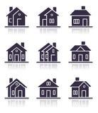 różne domowe ikony ilustracja wektor
