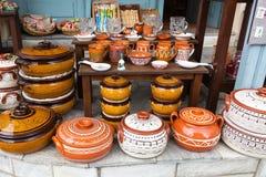 Różne pamiątki w greckim prezenta sklepie, Grecja Zdjęcia Royalty Free