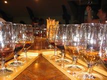 R??ne rozmaito?? wino nalewali w szklanych szk?a dla smacznej alkoholiczki obrazy royalty free