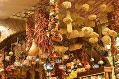Różne wysuszone owoc w bazarze w Istanbuł obraz stock