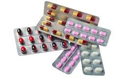 różni lekarstwa zdjęcia stock