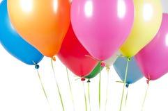 Różni lotniczy balony zdjęcie royalty free