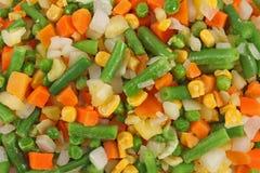 różni marznący ustaleni warzywa Obraz Stock