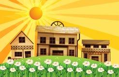 Różni projekty domy Obrazy Royalty Free