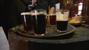 Różni sosowani piwa zbiory