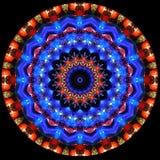 Różni szkła widzieć przez kalejdoskopu Zdjęcie Royalty Free