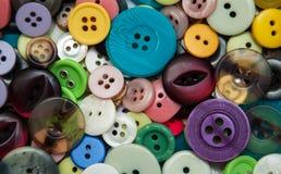 różni tło guziki dużo target2475_0_ Fotografia Royalty Free