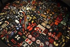 różni tło guziki dużo target2475_0_ Zdjęcie Royalty Free