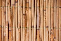 Japońska bambusowa tekstura dla tła. Bambus ściana obraz stock