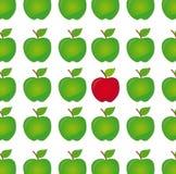 różnica jabłczany wektor Zdjęcie Royalty Free