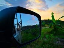 Różnica między brzmieniami niebo nad rolnictwo fi zdjęcie stock