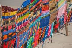 Różnorodna kolekcja tkaniny Zdjęcia Stock